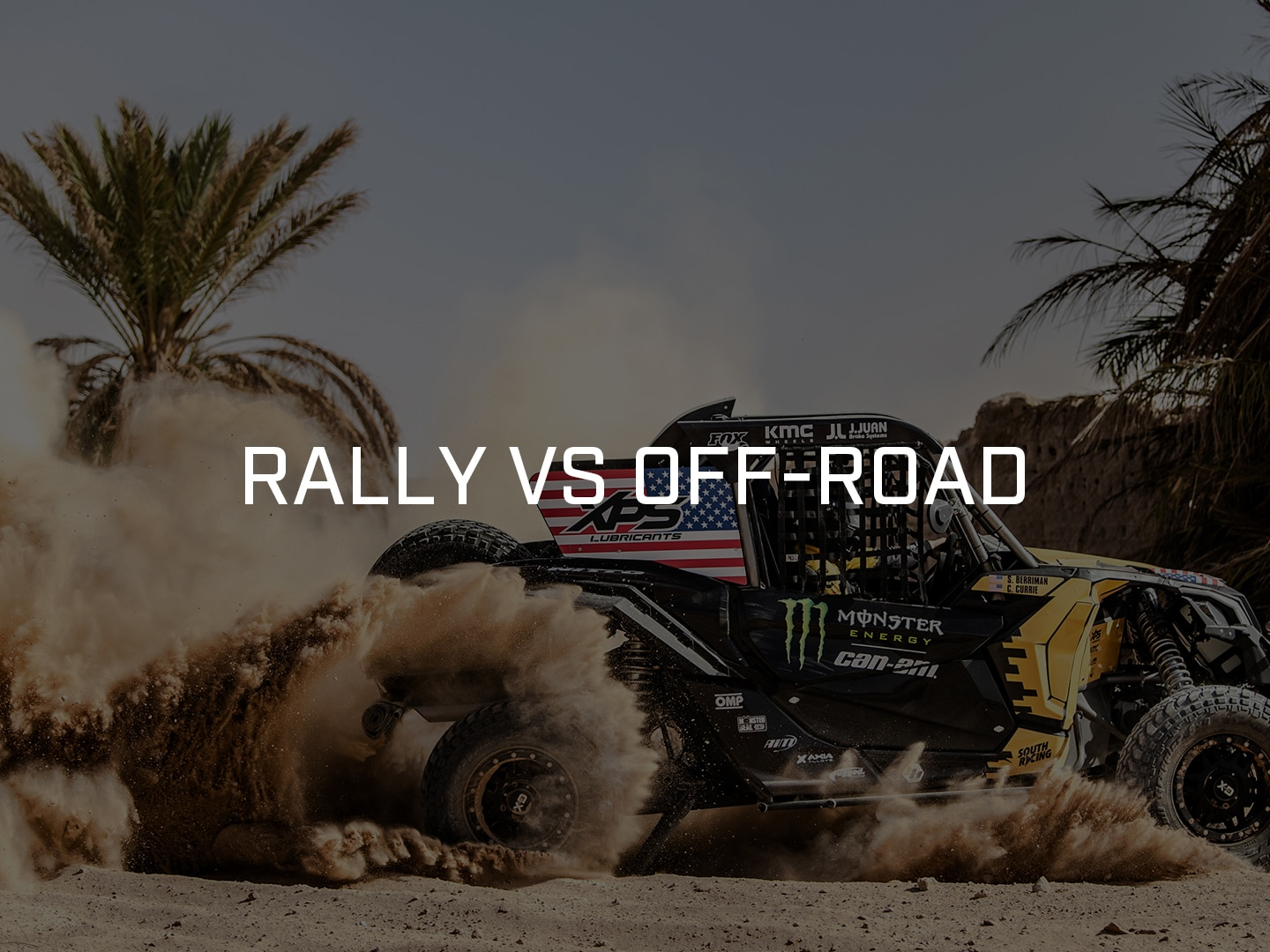 Rally vs Off-Road