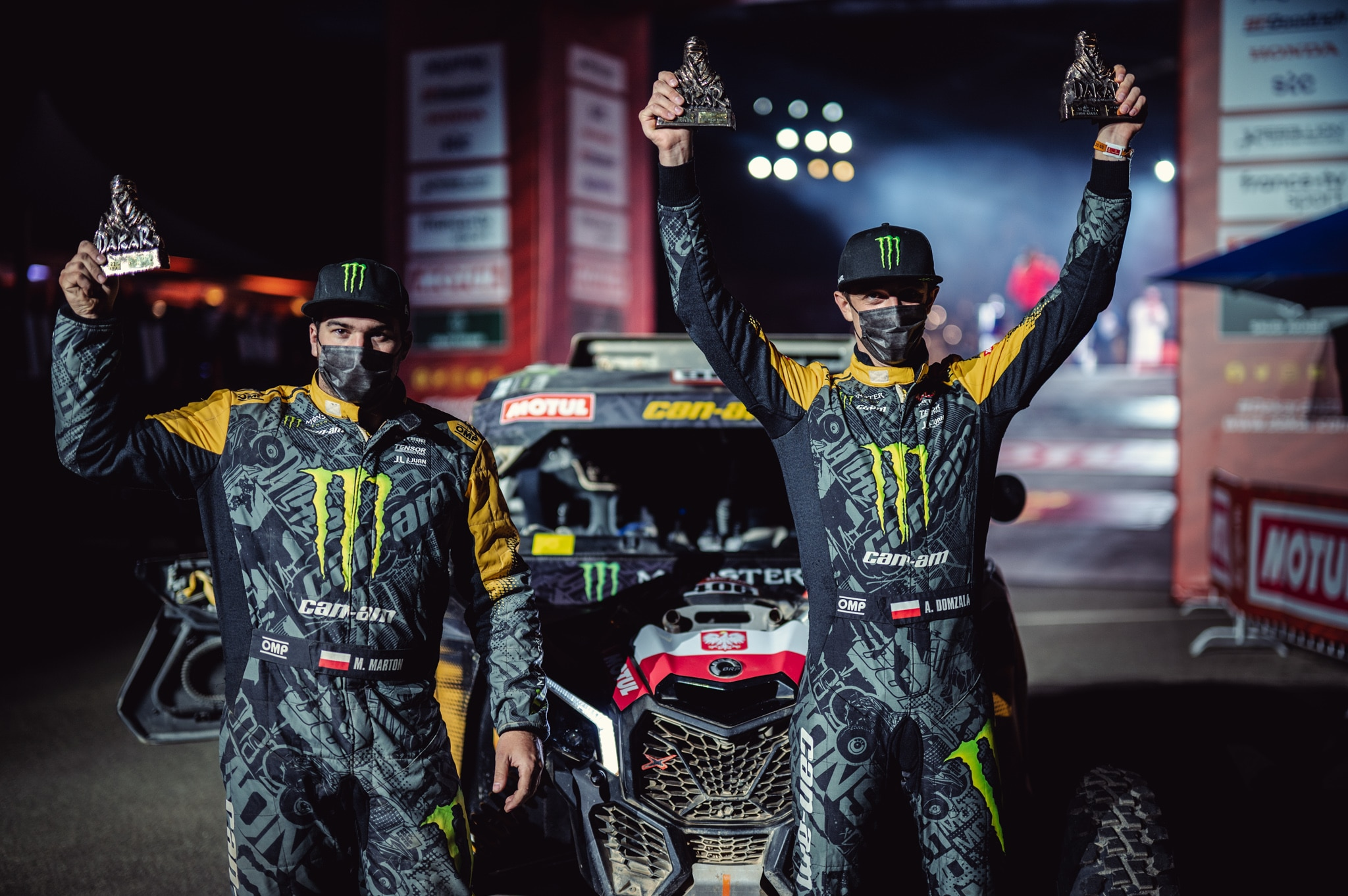 aron domżała monster energy can-am rajd dakar