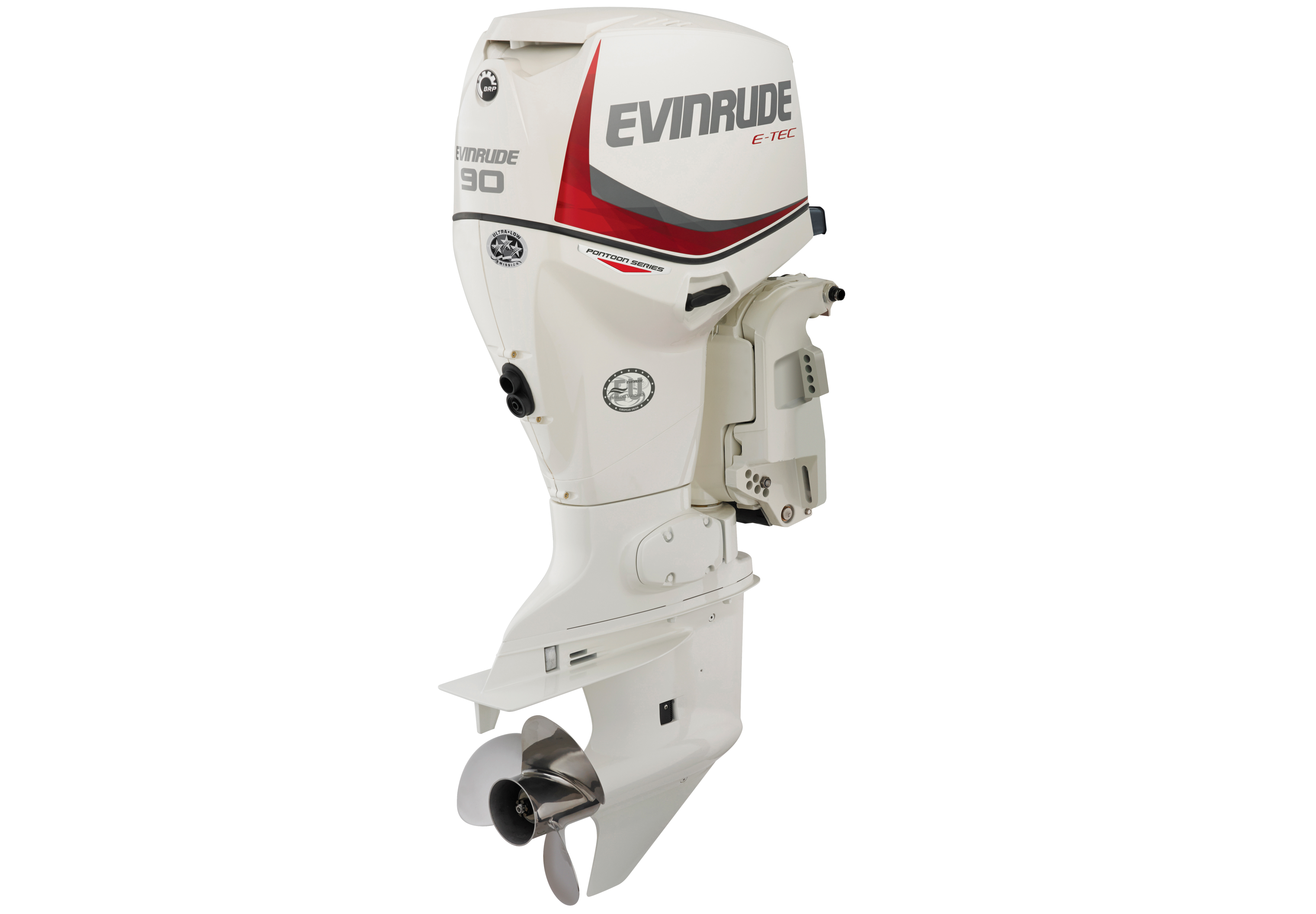 90 Hp  Pontoon Boat Motor by Evinrude