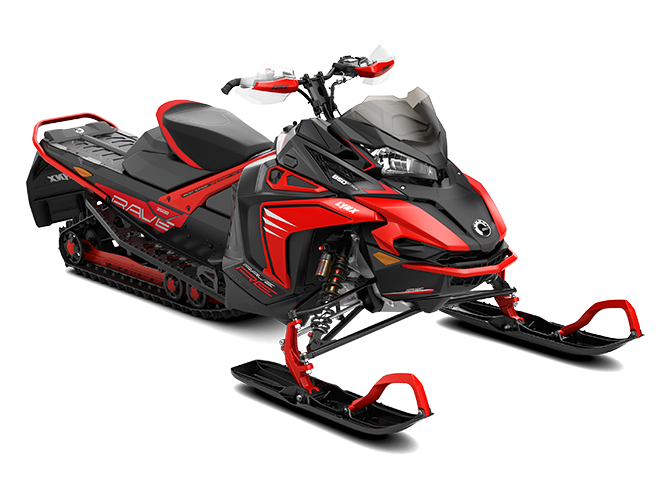 Rave Snowmobile Model 2020