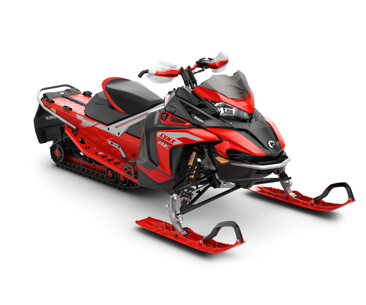 Snowmobile LYNX MY2022 Rave-RE-600R-E-TEC