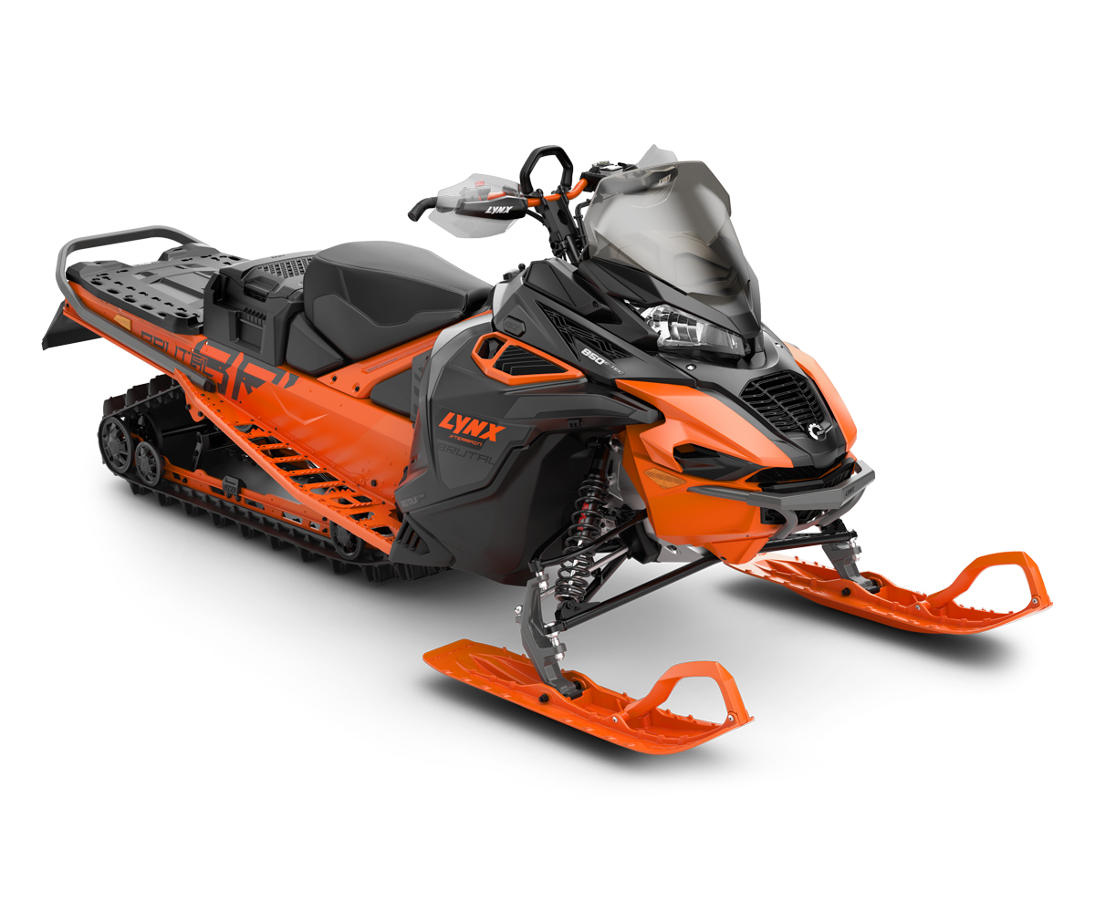 Lynx Xterrain Brutal 850 E-TEC in Race Orange