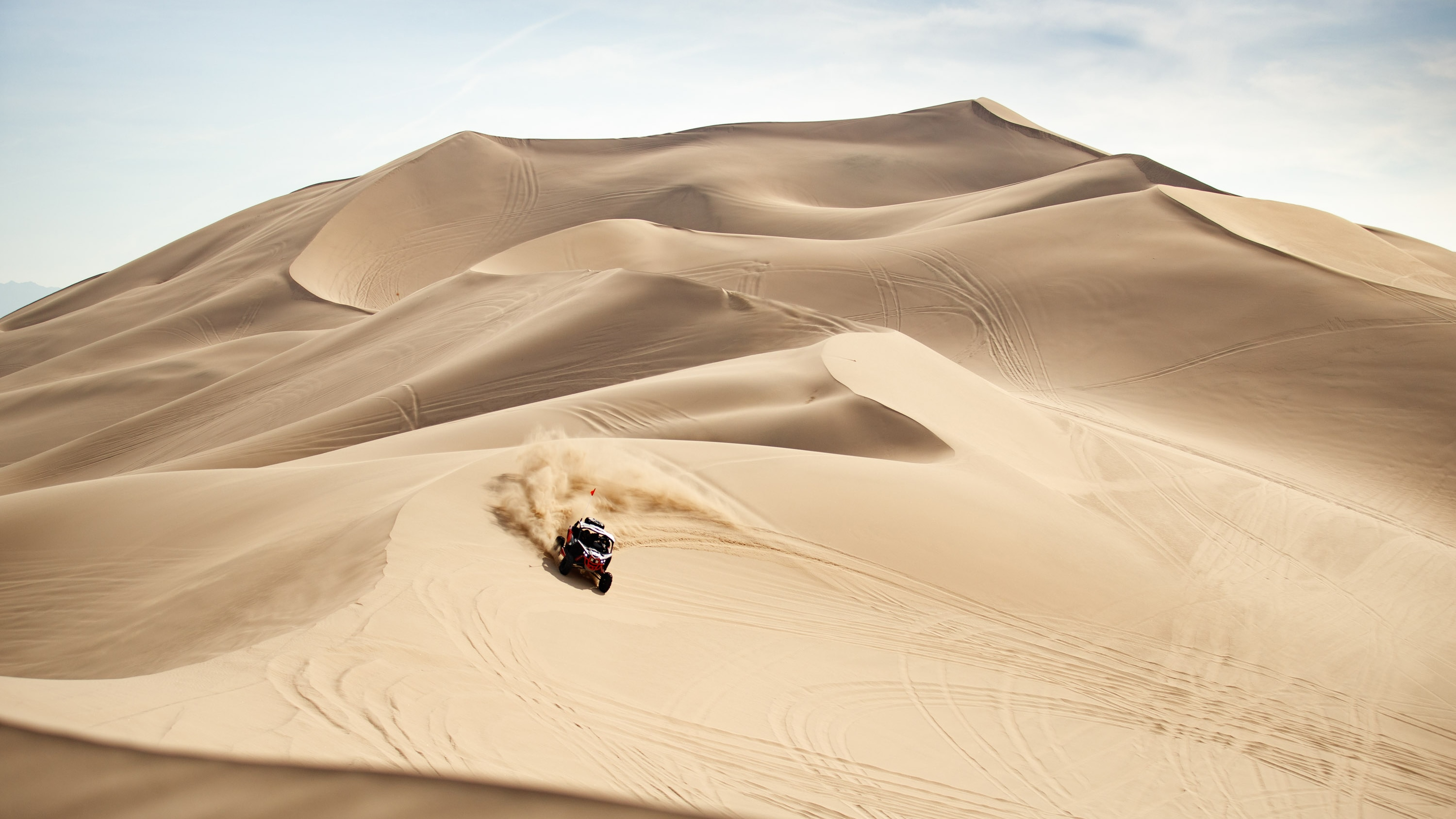 Single Maverick 2020 in the desert