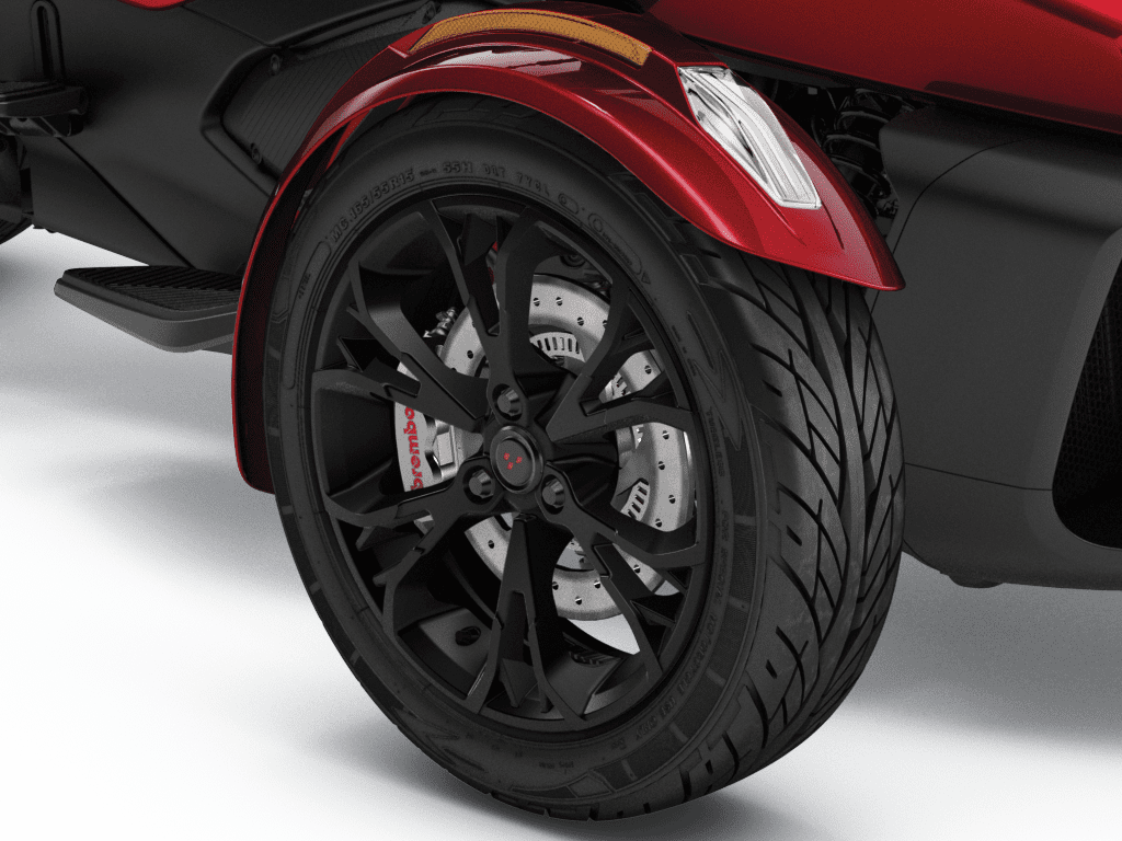 Can-Am Spyder RT Limited brembo braking system
