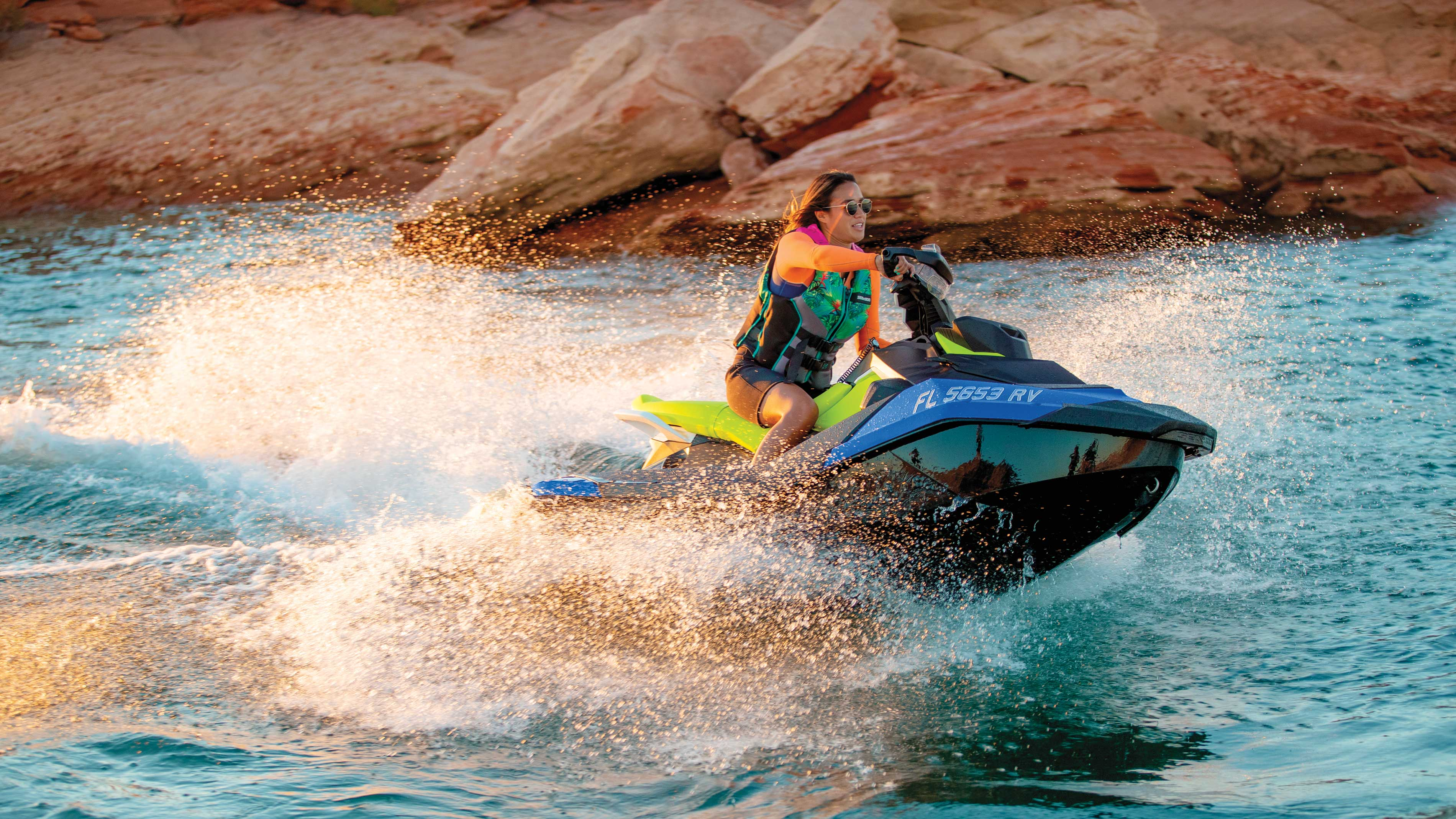 Women on a Sea-Doo SPARK