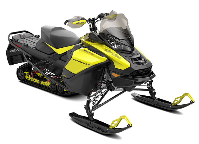Ski-Doo Renegade Adrenaline - 900 ACE Turbo - Sun Yellow and Black