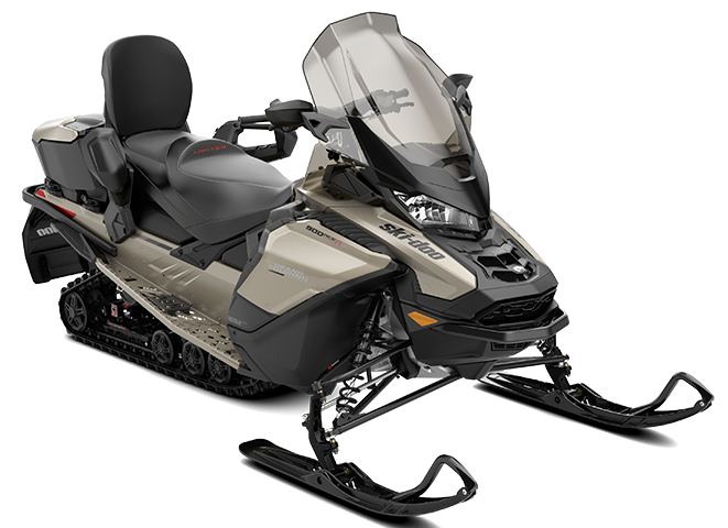 Ski-Doo Grand Touring Limited - 900 ACE Turbo - Titanium