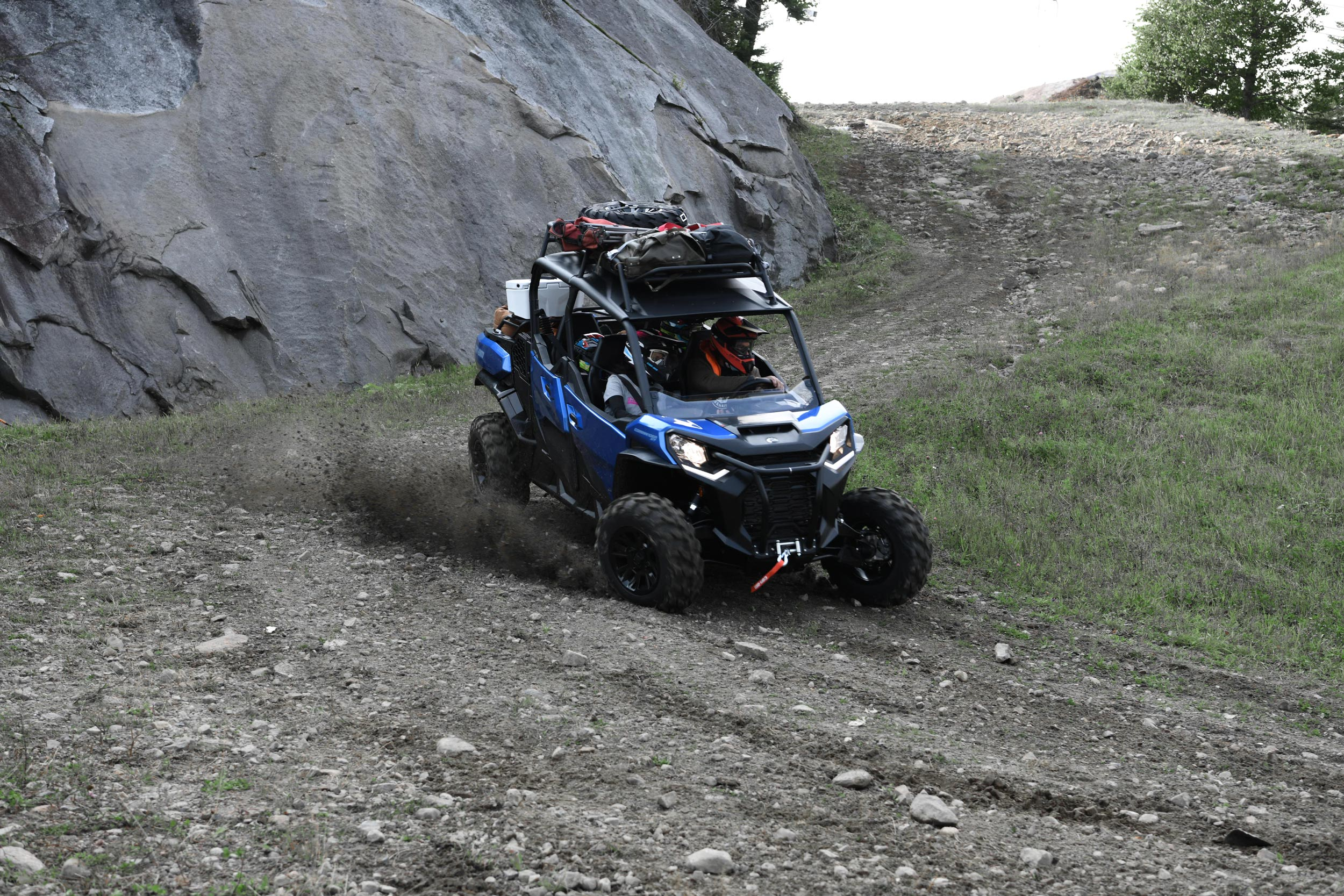 Can-Am Off-Road Commander 2021 Side by side vehicle Tri-Mode dynamic power steering for cottage and trail